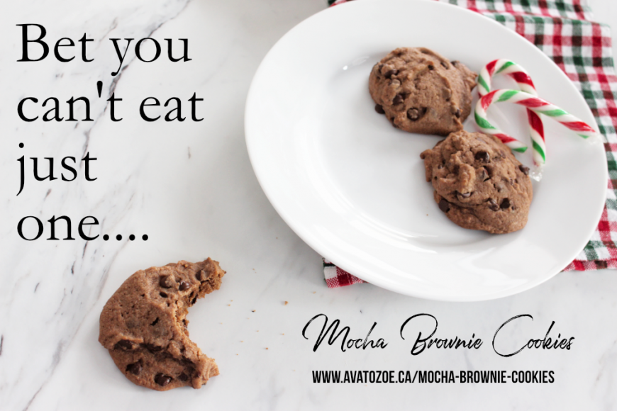 One Of Many Christmas Traditions: Mocha Brownie Cookies 8