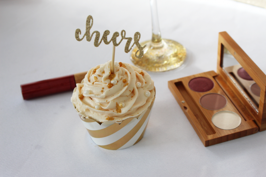 The Perfect Boozy NYE Sparkling Wine Cupcakes 6