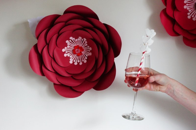 Cheers To Good Friends! A Valentine's Day Party Tutorial! 30