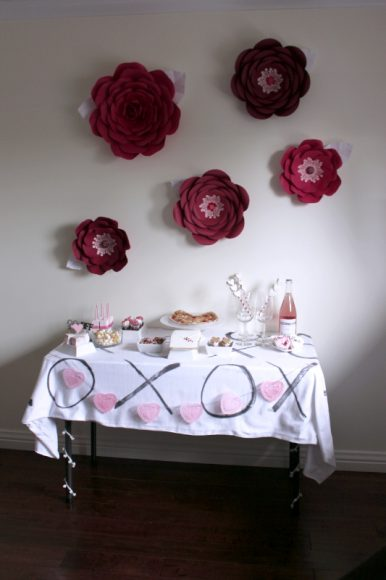 Cheers To Good Friends! A Valentine's Day Party Tutorial! 48