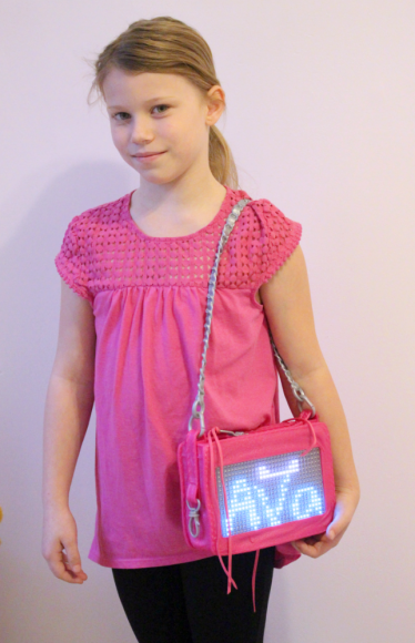 A Smart Pixel Purse With Fun Messages For Tweens! 4